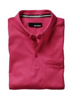 Polo-Shirt fuchsia Detail 1