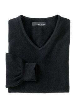Bordcase-Pullover schwarz Detail 1
