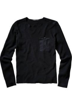 Pullover Pri10mus schwarz Detail 1