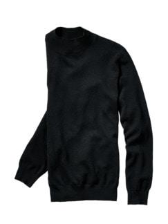 Turtleneck-Pullover Cijan schwarz Detail 1