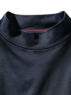 Turtleneck Longsleeve blau Detail 3