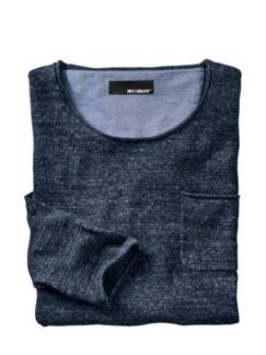 Über-20-Grad-Pullover dunkelblau Detail 1