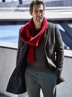 Kann-doch-Pullover braun Detail 3