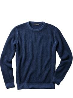 Kann-doch-Pullover blau Detail 1
