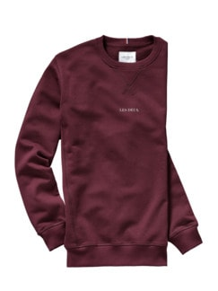 Sweatshirt Lens bordeaux Detail 1