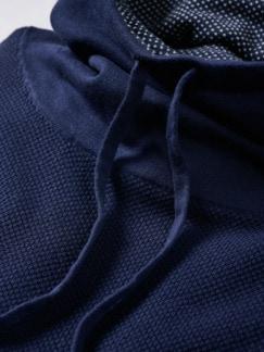 Kasten-Pullover marine Detail 4