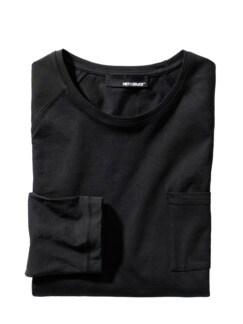 Ausdauer-Shirt schwarz Detail 1