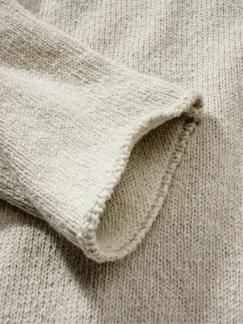 Upcycled Sweater altpapier-weiß Detail 4