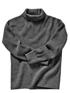 Tom-Crean-Pullover dunkelgrau Detail 1