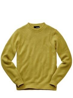 Rückgrat-Pullover kurkuma-gelb Detail 1
