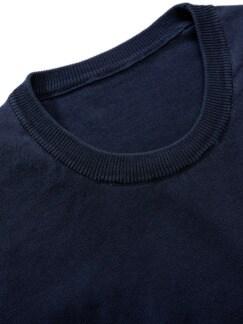 Juwelen-Pullover marine Detail 2