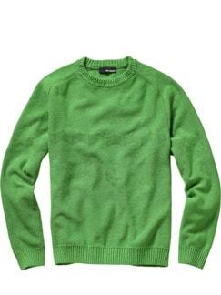 Lucky-Man-Pullover grasgrün Detail 1