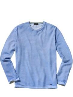 Pullover Cifinn Streifen blau Detail 1