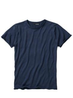Lebenszeit-Shirt navy Detail 1