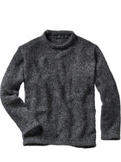 Irelands Eye Sweater grau/blau Detail 1