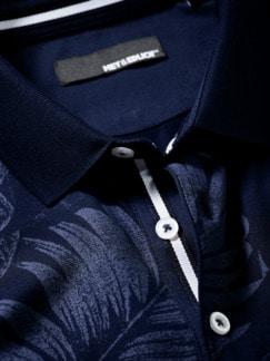 Polo-Shirt Hades unterweltblau Detail 4