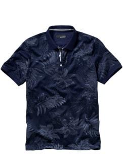 Polo-Shirt Hades unterweltblau Detail 1