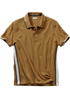 Polo-Shirt Agriati ocker Detail 1