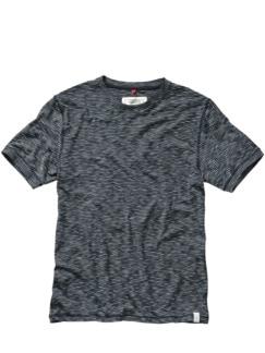 T-Shirt Cistefan Streifen blau/weiß Detail 1