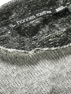 Edelmetallpullover Sober silberschwarz Detail 4