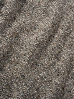 Tweed-Pullover taupe Detail 4