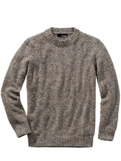Tweed-Pullover taupe Detail 1