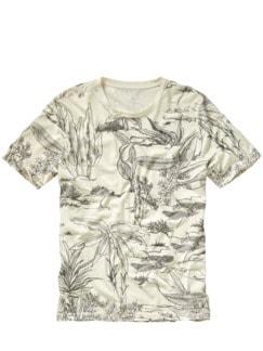 Sumi-e Shirt büttenpapier Detail 1