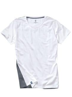 Nordstern-Shirt weiß/blau Detail 1