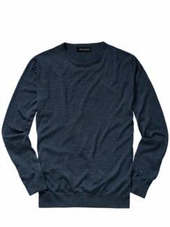 Naturwunder-Pullover dunkelblau Detail 1
