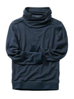 Masel-tov-Sweater dunkelblau Detail 1