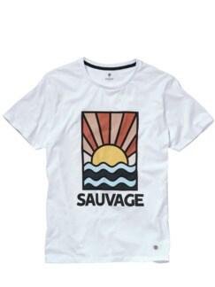 Sauvage-Shirt weiß Detail 1