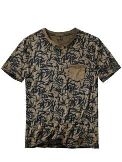T-Shirt Ciblan braun Detail 1