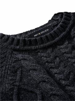 Steinkohle-Pullover steinkohle Detail 3