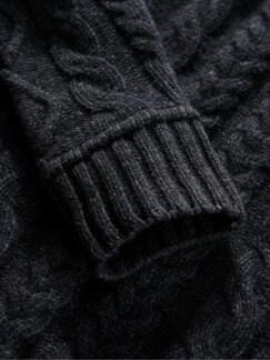 Steinkohle-Pullover steinkohle Detail 4