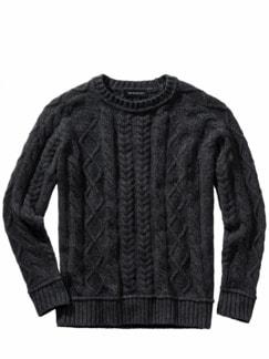 Steinkohle-Pullover