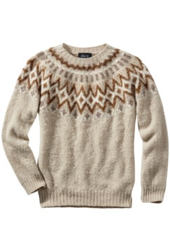 Sofortbild-Pullover Oatmeal natur Detail 1