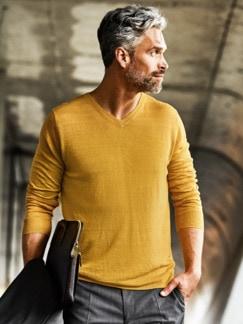 170-Gramm-Pullover safran Detail 2