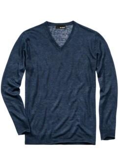 170-Gramm-Pullover dunkelblau Detail 1