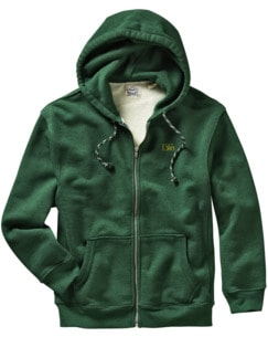 Hoodie Premium Heavyweight vintage-green Detail 1