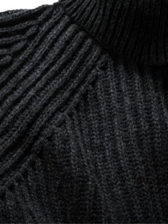 Kurator-Wollrolli anthrazit Detail 3