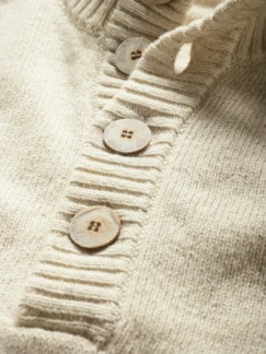 Recycled Cashmere-Troyer altpapier Detail 4