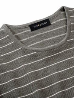 Überquer-Strickshirt Tinte/Papier Detail 2
