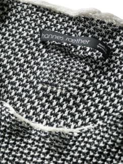 Pullover ba10rde schwarz/weiß Detail 3