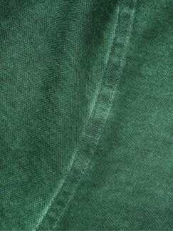 Vintage-Polo waldgrün Detail 4