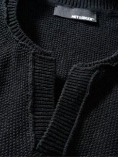 Individualisten-Pullover schwarz Detail 4