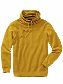 Kasten-Pullover aztekengelb Detail 1