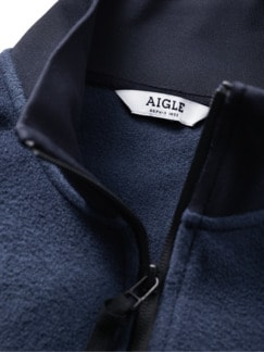Recycled Fleecejacke Pexius navy Detail 4