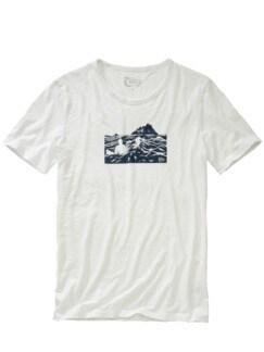 Surf-Shirt wolkenweiß Detail 1