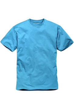 Benchmark-Color-Shirt azurblau Detail 1