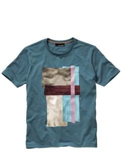 T(alent)-Shirt petrol Detail 1